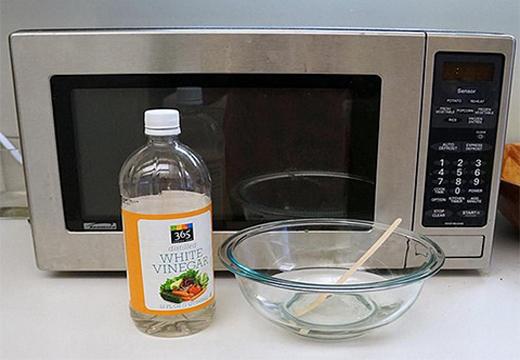 уксус для чистки печи