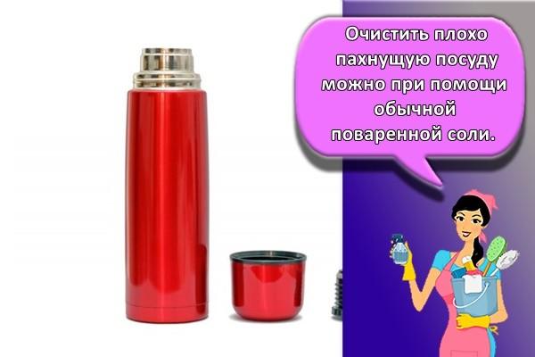 Запах из термоса: некачественный материал, остатки жидкости или сырость?