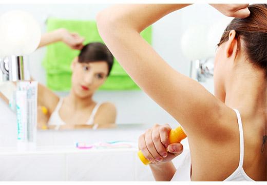 Использование дезодораннта