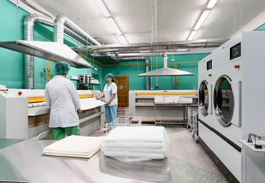 прачечная в больнице