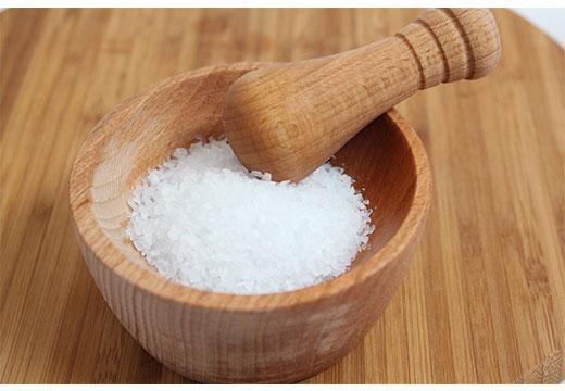 Соль в ступке