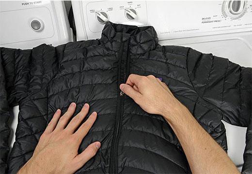 Стирка черной куртки