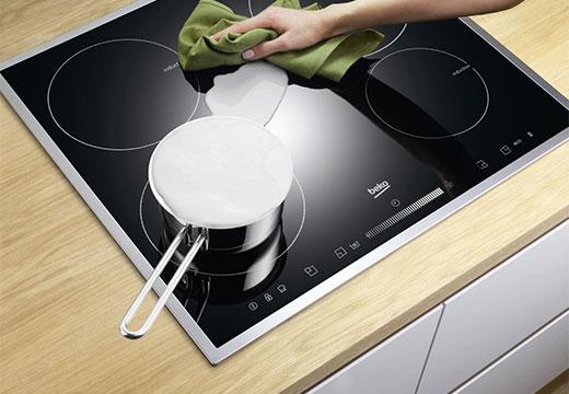 Электрическая плита и молоко