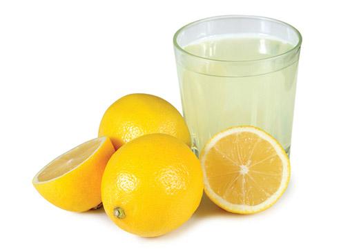 Лимонный сок для чистки кожи