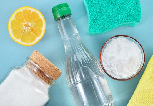 сода и уксус с лимоном
