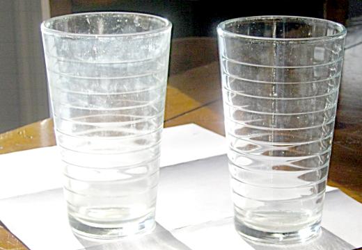 налет на стаканах после посудомойки