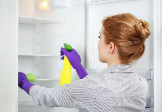 Мойка холодильника