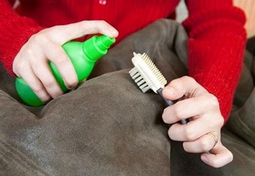 чистка дубленки