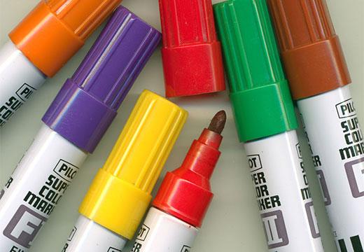 Маркеры разноцветные