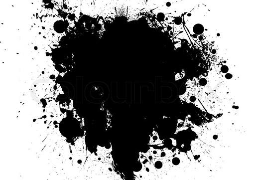 Черная клякса