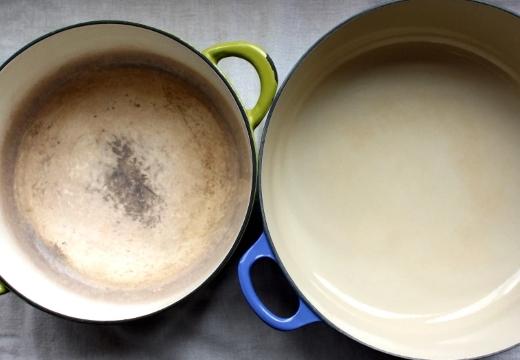 эмалированная посуда старая