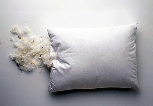 перья из подушки