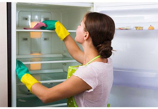 Мойка холодильника от неприятного запаха