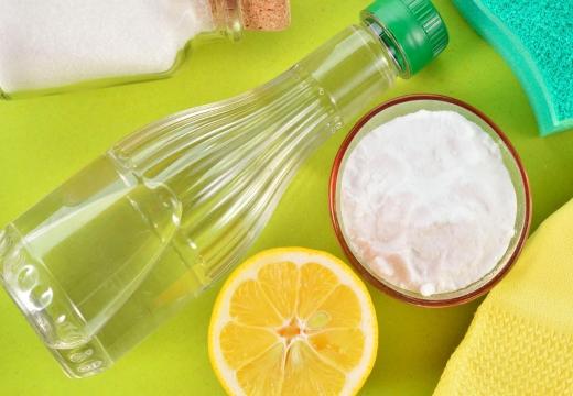 Смесь уксуса соды и лимона