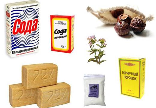 Ингредиенты для порошка