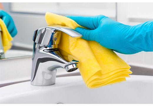 Чистить кран