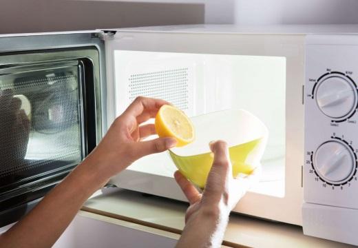 лимон вода микроволновка