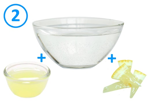 сок вода лимон