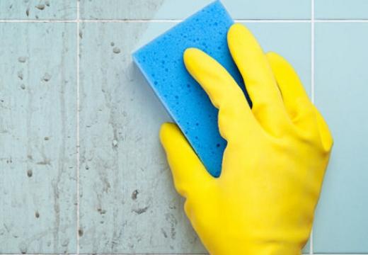 мыть кафель от налета