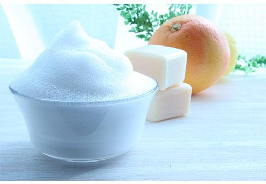 мыльная пена и хозяйственное мыло