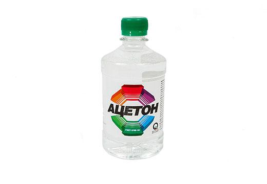 Ацетон в бутылочке