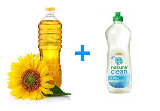 масло жидкость для посуды