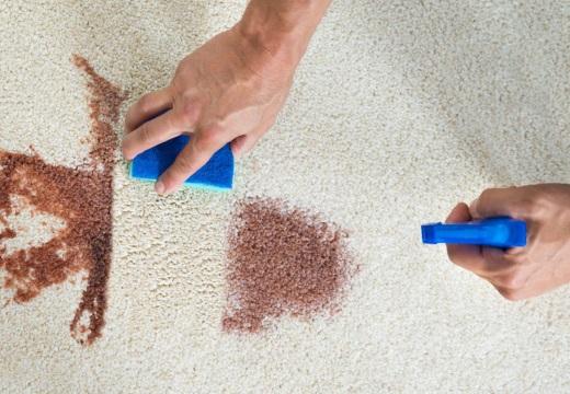 отчистить пятно на ковре