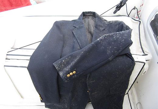 Плесень на пиджаке