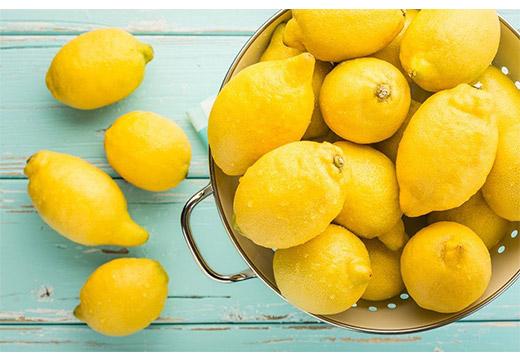 Лимон - отбеливатель