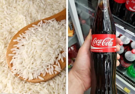 рис и кока-кола