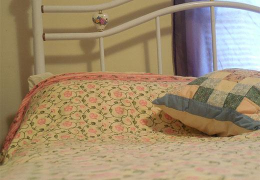 Одеяло в цветочек