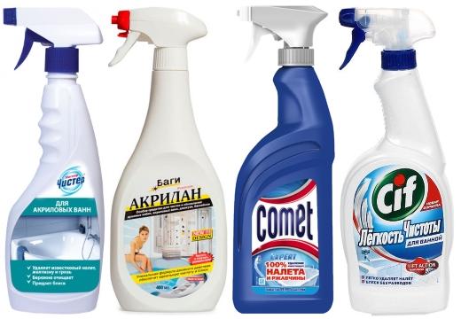 чистящие средства для ванн