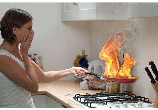 Сгорела пища