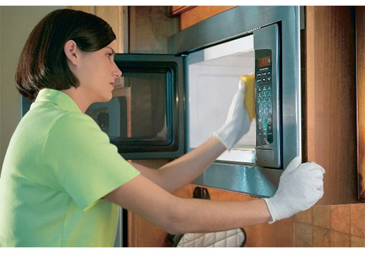 Вымыть духовку