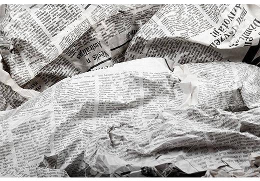 Газета для полировки
